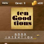 Level Clever 9 Good intention