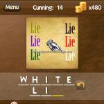 Level Cunning 14 White lie