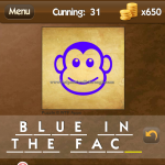 Level Cunning 31 Blue in the face