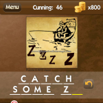 Level Cunning 46 Catch some zs