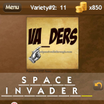 Level Variety 2 11 Space invaders