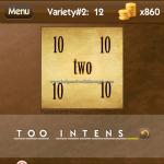 Level Variety 2 12 Too intense