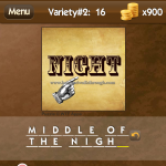 Level Variety 2 16 Middle of the night