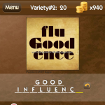 Level Variety 2 20 Good influence