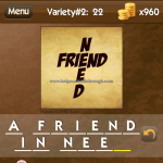 Level Variety 2 22 A friend in need