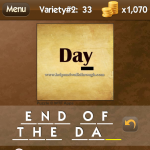 Level Variety 2 33 End of the day