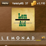 Level Variety 2 37 Lemonade