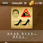 Level Variety 2 38 Head over heels
