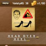 Level Variety 2 38 Head over heels