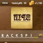 Level Variety 2 39 Backspin