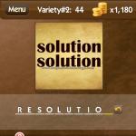 Level Variety 2 44 Resolution