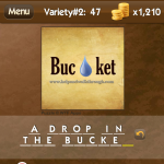 Level Variety 2 47 A drop in the bucket