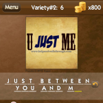 Level Variety 2 6 Just between you and me