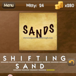 Level Witty 24 Shifting sand