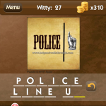 Level Witty 27 Police line up