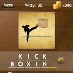 Level Witty 30 Kick boxing
