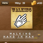 Level Witty 39 Walking hand in hand