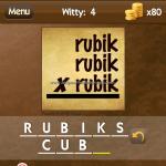 Level Witty 4 Rubks cube
