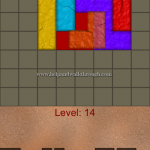 Blocks shapes fits level 14