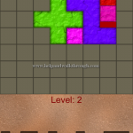 Blocks shapes fits level 2
