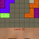 Blocks shapes fits level 26