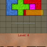 Blocks shapes fits level 4