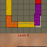 Blocks shapes fits level 8