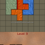 Blocks shapes fits level 9